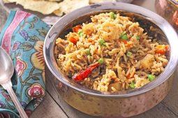Biryani riz aux légumes