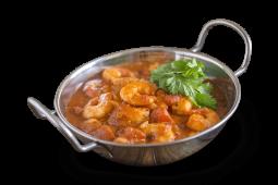 Crevettes karahi