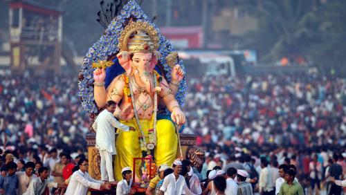 Ganesh Chaturthi en Inde